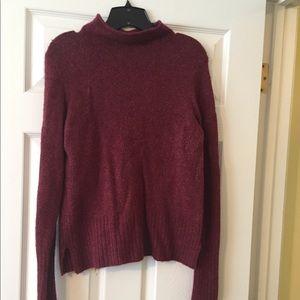 Madewell brick red wool sweater size medium